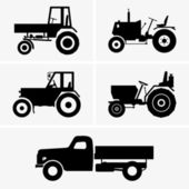 Agricultural vehicles — Vector de stock