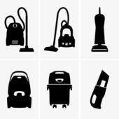 Vacuum cleaners — Stock Vector