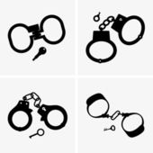 Handcuffs — Stock Vector