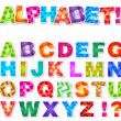 The Alphabet - Vector — Stockvectorbeeld