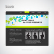 Website design template. Vector. — Stock Vector #35262059