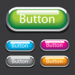 Buttons for web design. Vector. — Stock Vector