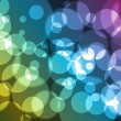 Abstract background with bokeh effect. — Stok Vektör