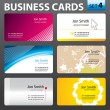 Business card design. — Stock Vector #35325847