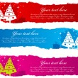 Christmas banners. — Stock Vector #35325895