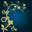 Elegant floral background. vector. — Vector de stock