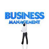 Business word for business and finance concept, Risk management — Foto Stock