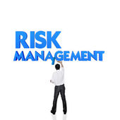 Business word for business and finance concept, Risk management — Stock Photo