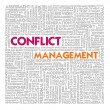 Business word cloud for business and finance concept, Conflict Management — Stock Photo #42141371