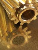 Helical Gears Steampunk — Stock Photo