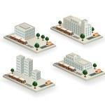 Vector buildings — Stockvektor  #11956068
