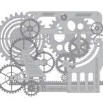 Pattern gear — Stock Vector #13918586