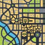 Vector map — Stock Vector #20616787