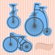 Color  bikes — Stock Vector