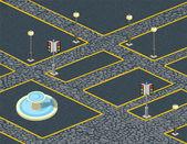 Urban cobblestones — Stock Vector