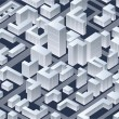 Isometric vector  city — Vettoriali Stock