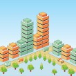 Vector isometric — Stockvectorbeeld