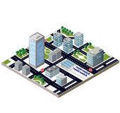 城市街区 — 图库矢量图片