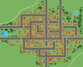 Plan — Stockvector