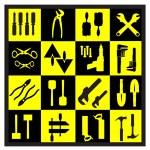 A set of tools — Stock Vector #6726102