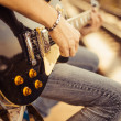 Guitar player — Stock Photo #21210289
