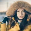 Winter portrait — Stock Photo