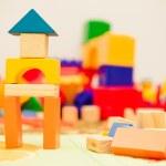 Wooden toys — Stock Photo #43519437