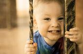 Kid headshot — Stockfoto