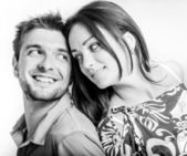 Mutlu çift — Stok fotoğraf