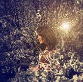 Dame de printemps — Photo