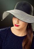 帽子の女 — ストック写真