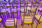 Event Chairs — Stock Photo