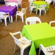 Children's Party Chairs and Tables — Stock Photo #13858681