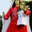 Stock Photo: Queen Mary and Child Jesus