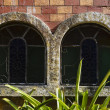 Aged Castle Windows — Stock Photo