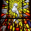 Holy Spirit Dove Symbol - Stock Photo