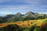 Aziatische berg boerderij — Stockfoto