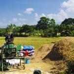 Rice Thresher — Stock Photo
