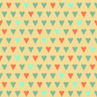Vintage Hearts — Stock Vector