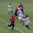 Soccer training of Catania Calcio — Foto de Stock