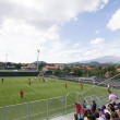 Soccer training of Catania Calcio — Stock fotografie