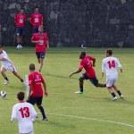 Fußball-Training von Catania calcio — Stockfoto