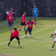 Soccer training of Catania Calcio — Stok fotoğraf