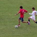 fotbollsträningen för catania calcio — Stockfoto