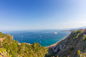 Sicilian seascape from Taormina — Stock Photo