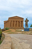 Valley of the Temples Agrigento, Sicily — Stock Photo