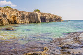 Sea of Arenella - Siracusa, Sicily — Stock Photo
