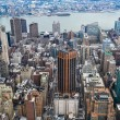 New York City Manhattan midtown aerial panorama view with skyscr — Stock Photo #28598805