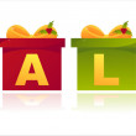 Christmas sale gifts — Stock Vector #7908402