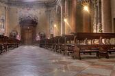 教堂内部 — 图库照片